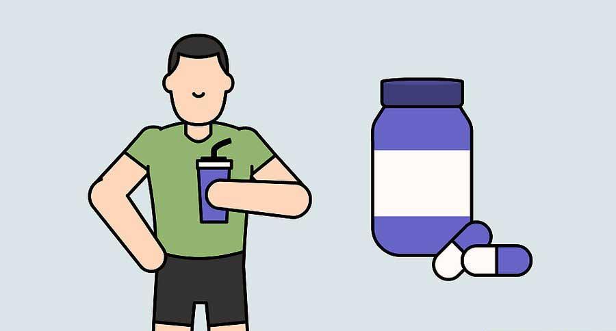 مصرف مکمل کراتین در برنامه افزایش حجم ساق پا
