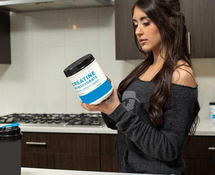 مصرف کراتین برای چربی سوزی بدون کاهش حجم عضلات