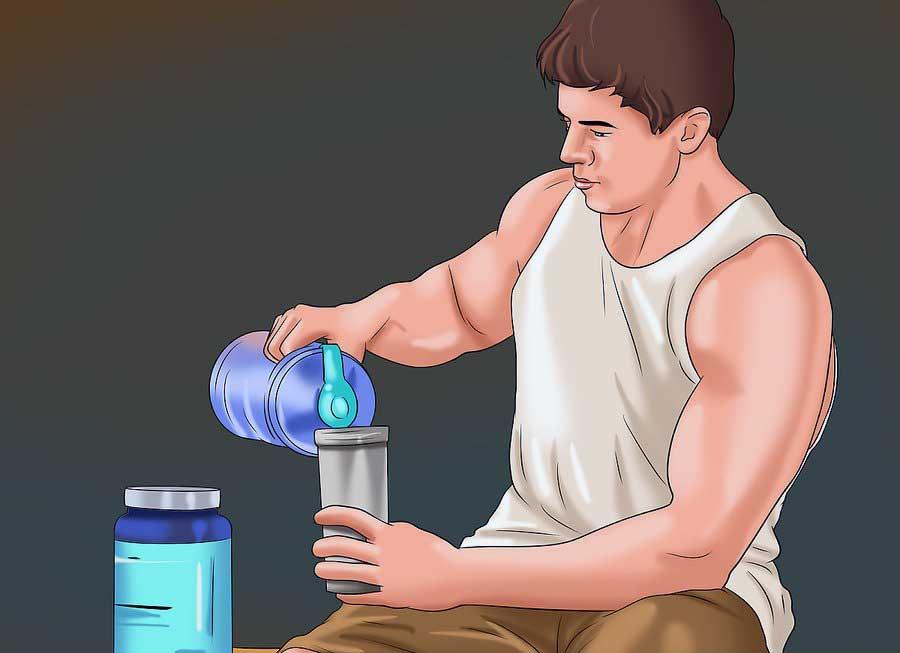 مصرف لوسین برای بهبود سنتز پروتئین