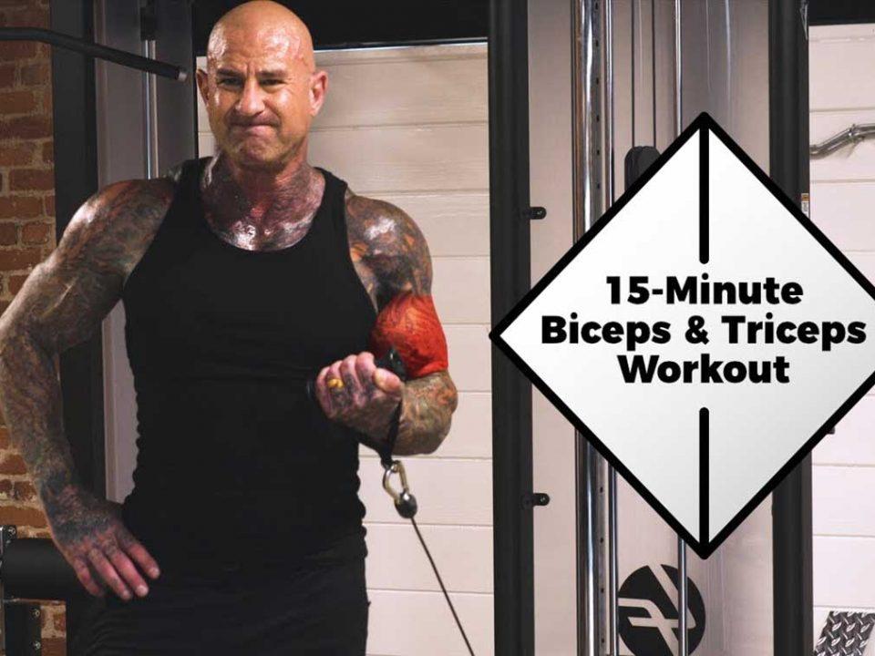 برنامه تمرینی عضلات بازو