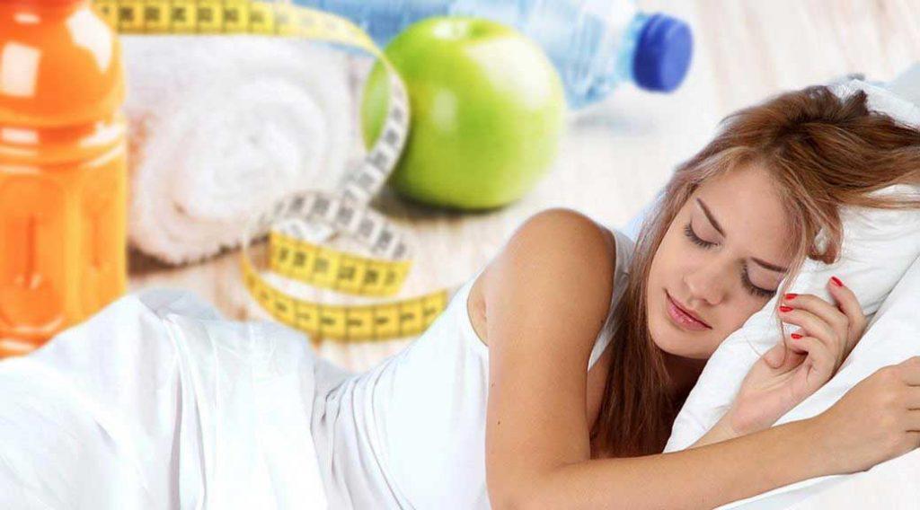 تاثیر کیفیت خواب در کاهش وزن