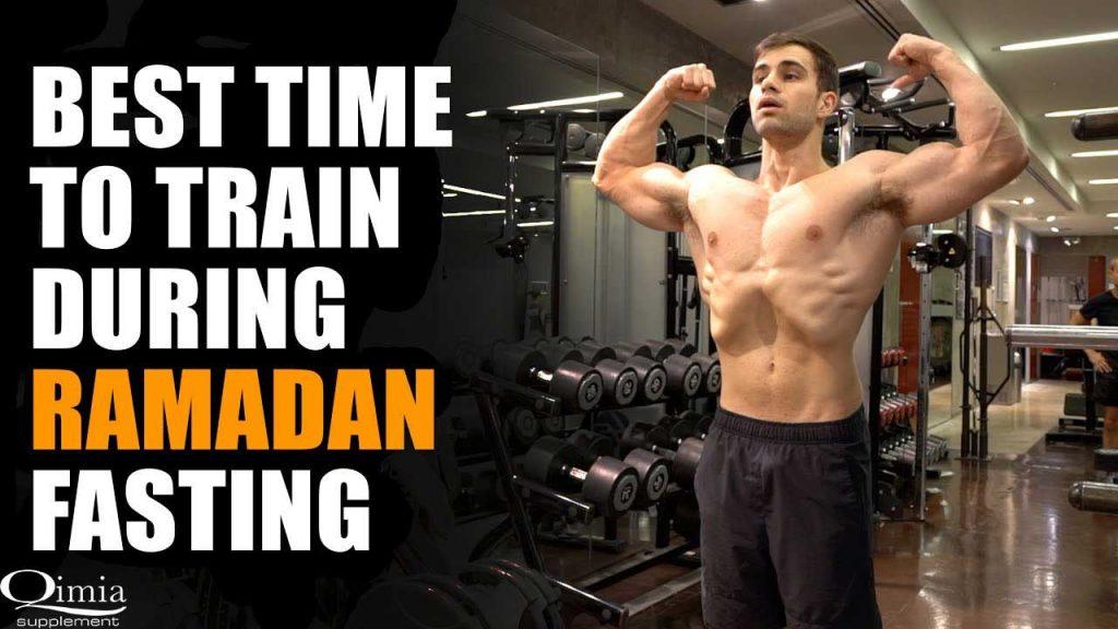 بهترین زمان انجام تمرین در ماه رمضان