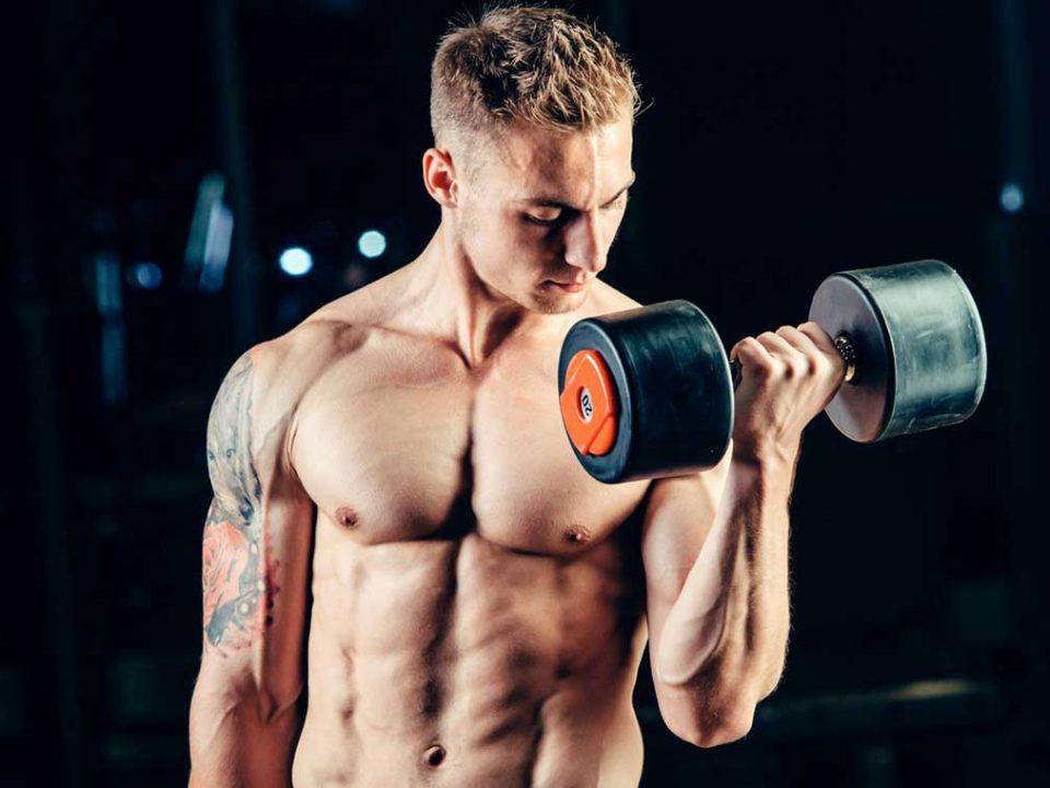 عضله سازی با دمبل