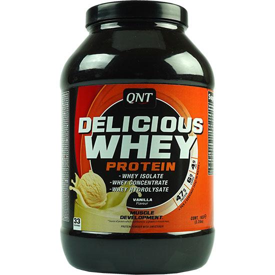 دلیشس وی پروتئین کیو ان تی وانیل