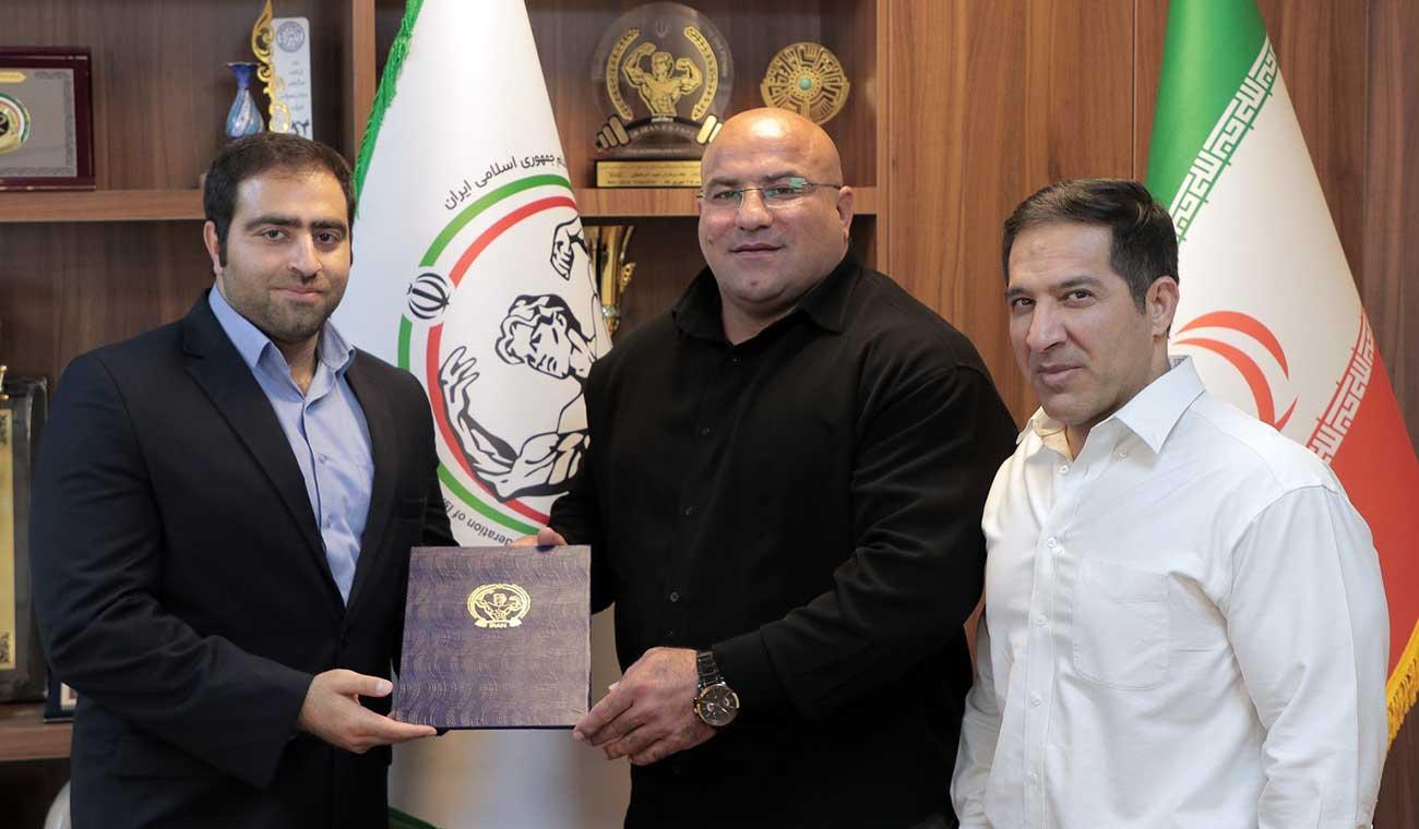 مجتبی ملکی مشاور رییس فدراسیون ورزش های قدرتی